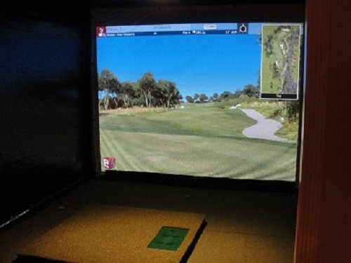ProTee Ultimate Golf Simulator Systems with 70k Courses