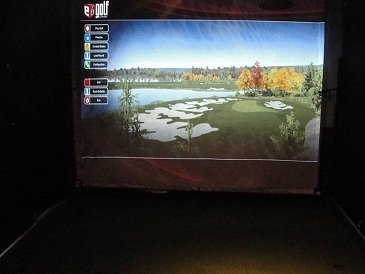 TruGolf TruTrac Golf Simulator Sensor with 45 Courses