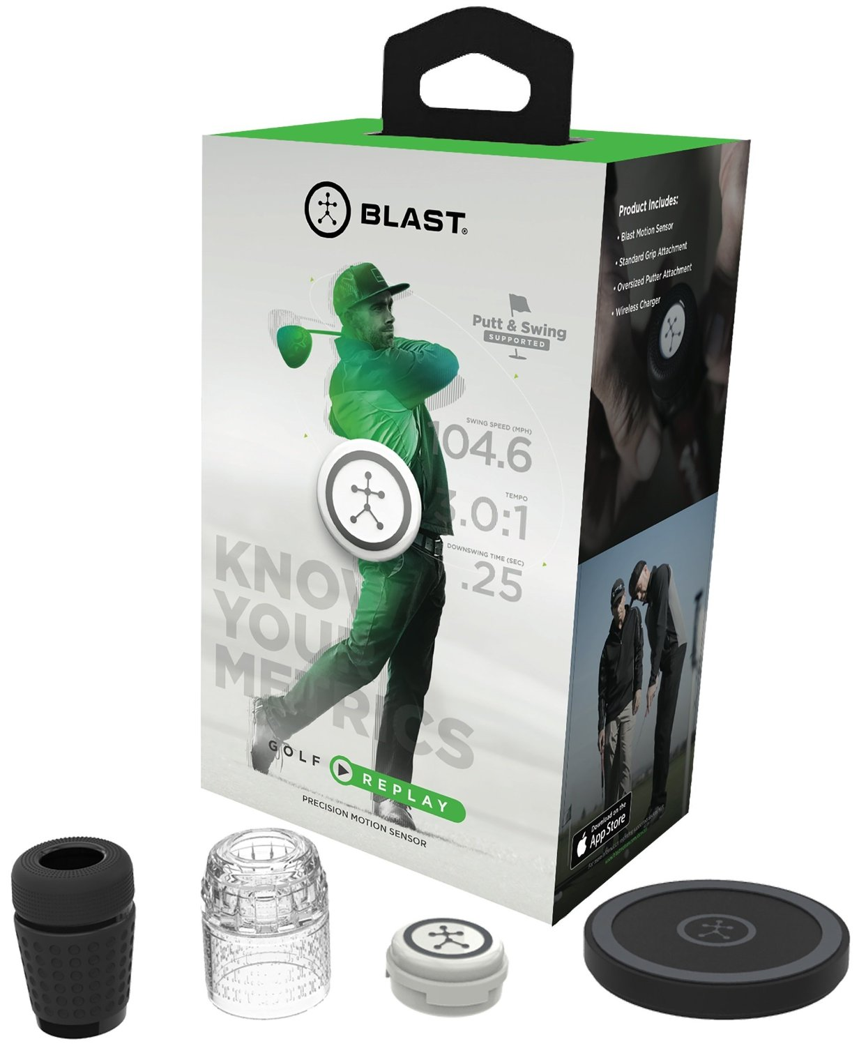 Blast Motion Golf Replay 3D Motion Capture Trainers