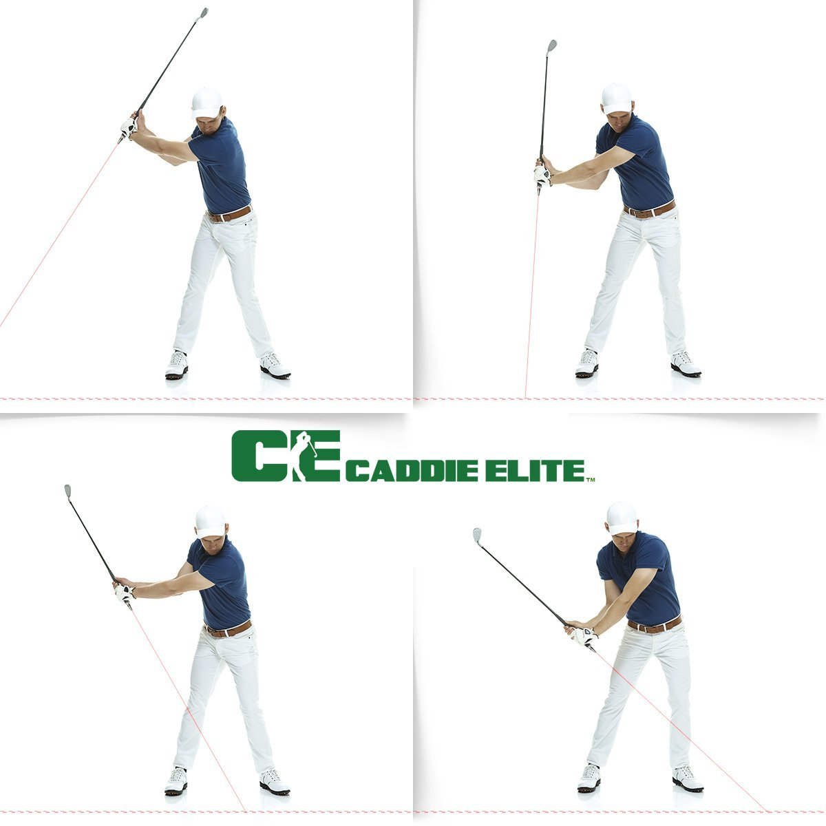 Caddie Elite Plane Sight Laser Golf Swing Training Aids