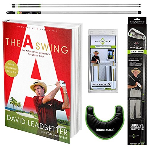David Leadbetter The A Swing Book Golf Training Bundle