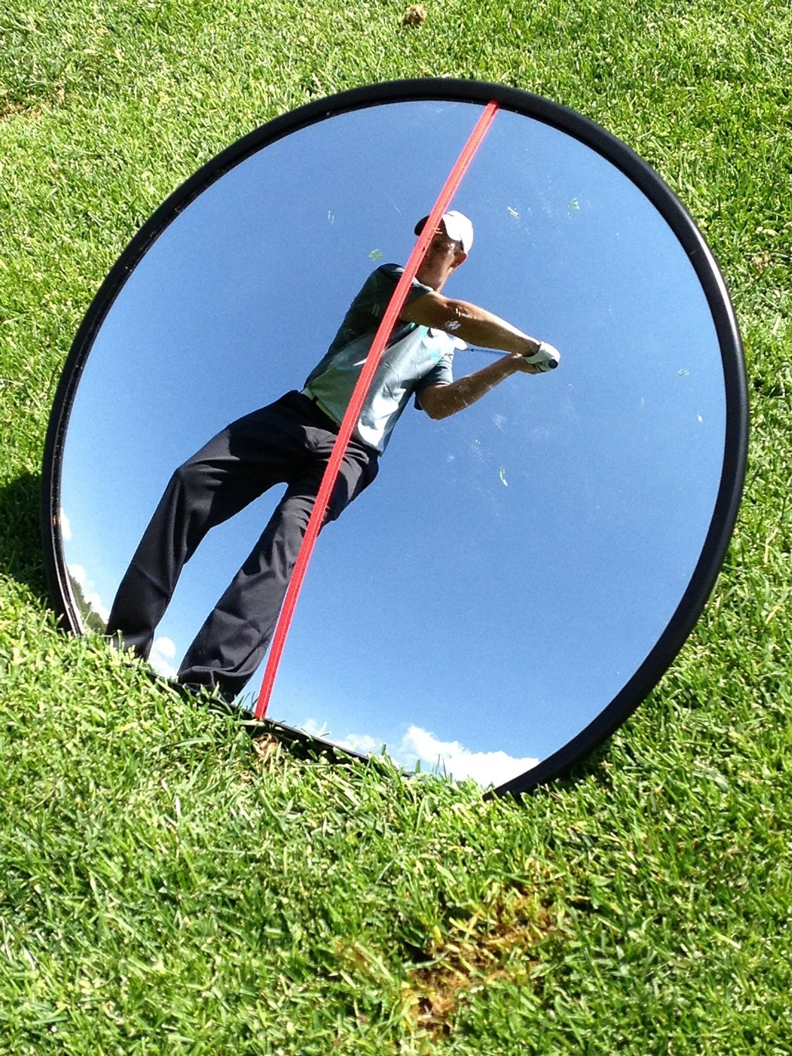 Eyeline Golf 360 Degrees Mirror for Putting and Full Swing
