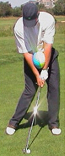 Impact Ball Golf Swing Training Aids