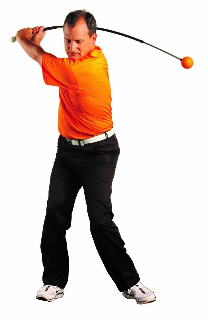 Orange Whip Golf Swing Trainers 47 Adult Size