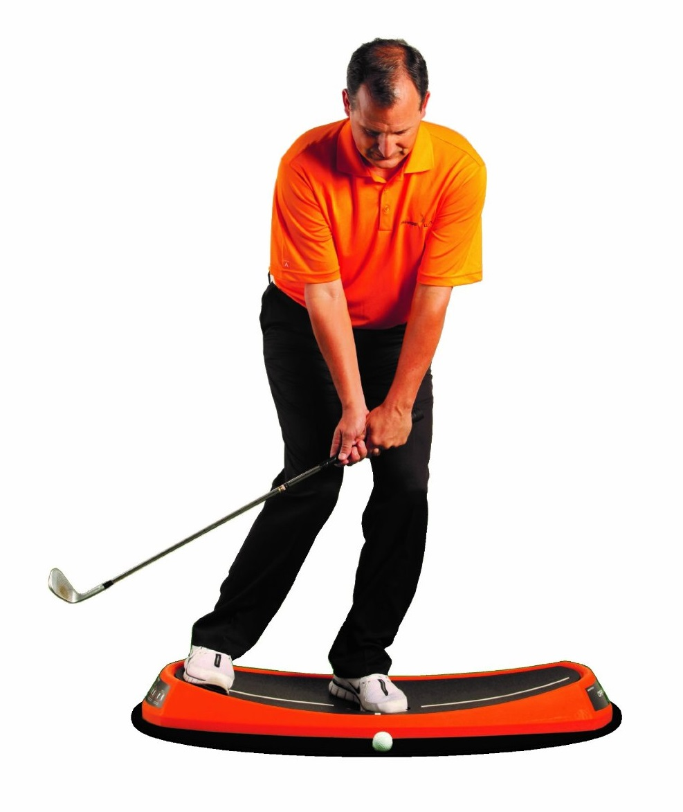 Orange Whip Peel Golf Swing Trainers